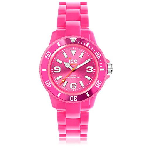 Ice-Watch - ICE solid Pink - Women's wristwatch with plaastic strap - 000629 (Medium)