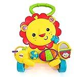 WWJL Juguetes para BebéS Andador para BebéS Andador con Forma De LeóN Bebé Multifuncional De Cuatro Ruedas Empuje De Mano MúSica EducacióN Temprana Juguete Antivuelco para NiñOs