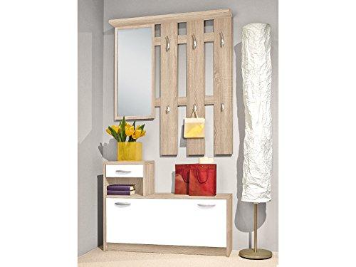 Garderobe Flurmöbel Kompaktgarderobe Garderobenset Dielenmöbel Selene I