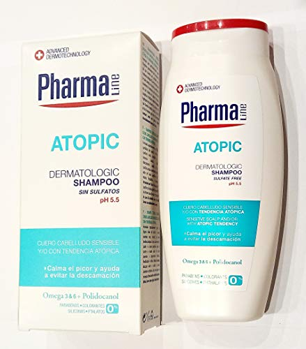 PHARMALINE champú atopic bote 250 ml