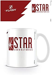 The Flash Star Labs Coffee Gift Mug Official Dc Comics