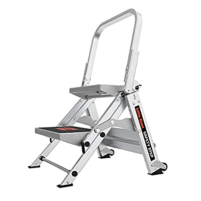 Little Giant Ladders, Safety Step, 2-Step, 2 Foot, Step Stool, Aluminum, Type 1A from Little Giant Ladder Systems