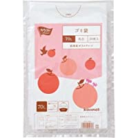 カウネット 低密度ゴミ袋エコ厚少量パック 乳白70L20枚×5