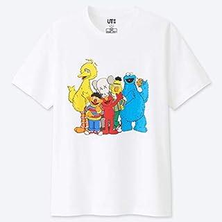 XXLオンライン 限定サイズ UTコラボ シャツ カウズ×セサミストリート KAWS ユニクロ uniqlo Sesame Street クッキーモンスター