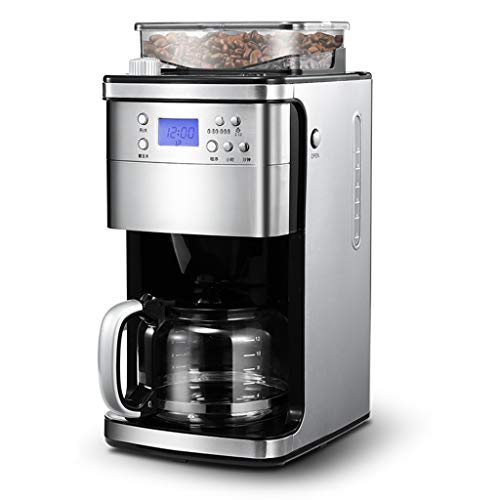 Why Should You Buy HEYU-Coffee machine Fully Automatic Espresso Machine, Dual-use Espresso Machine For Household Use, Grinding And Brewing Coffee, (1500ml) Stainless Steel, 110V~240V, Power 1050W