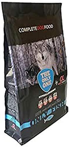 Alpha Spirit 42025 Only Fish - Alimento completo seco hipoalergénico para perros adultos, 12000 gr ⭐
