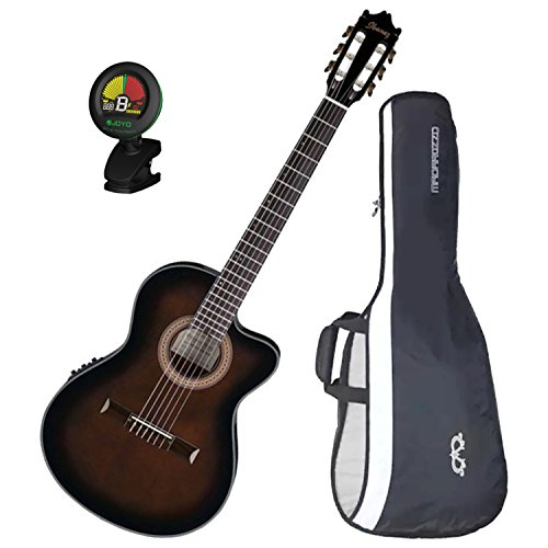 powerful IbanezGA35TCED VS Thinline Acoustic Electric Classic Guitar Dark Violin Burstw / Gig Bag and Tuner!