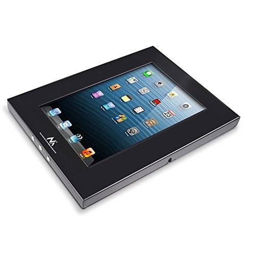 Maclean MC-610 - Estuche antirrobo para Tablet iPad 2/3/4/Air Tab 2 10.1