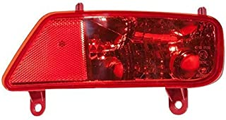 Trade Vehicle Parts OP8030 Rear Light Lamp Outer Section Black Right Side