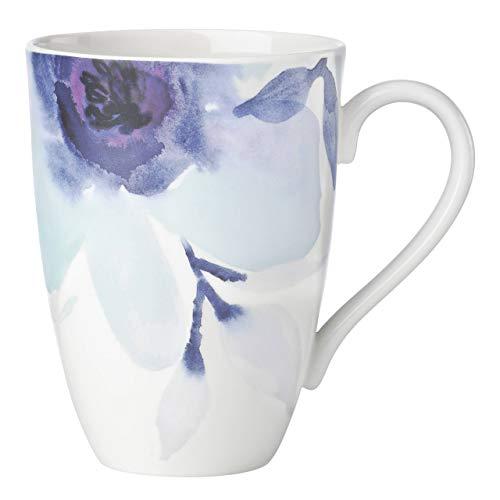 Lenox Indigo Watercolor Floral Mug, 0.65 LB, Blue