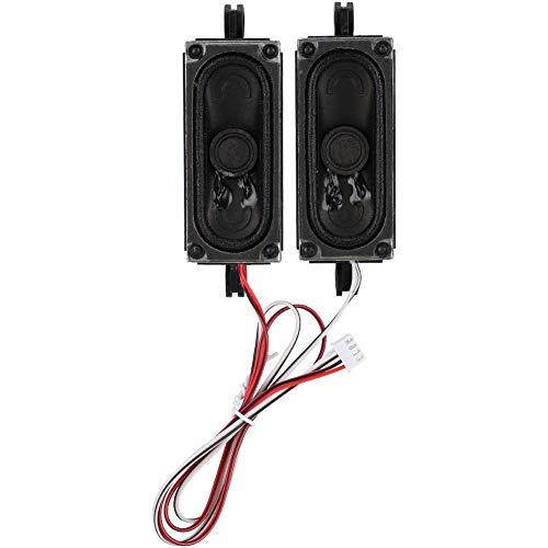ASHATA TV-luidspreker, 2 stuks. 4 Ohm 5 W TV-box luidspreker luidspreker geluidsversterker eenheid voor LCD-tv-reclamespeler, geschikt voor LCD-tv