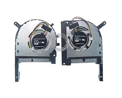 HuiHan GPU & CPU Cooling Fan for ASUS TUF FX505 FX505D FX505DT FX505DU FX505DV FX505DY FX505GT Notebook
