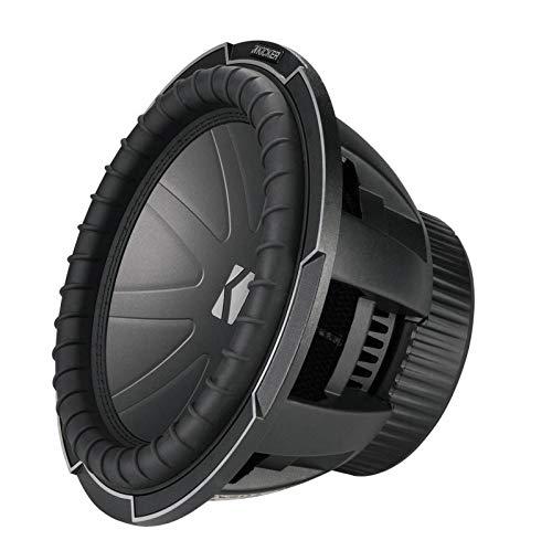 Kicker CompQ12 Q-Class 12-Inch (30cm) Subwoofer, Dual Voice Coil 2-Ohm