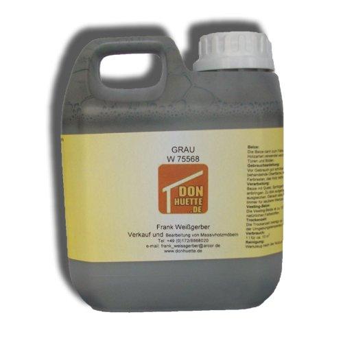 Beize Holzbeize Grau 1000 ml
