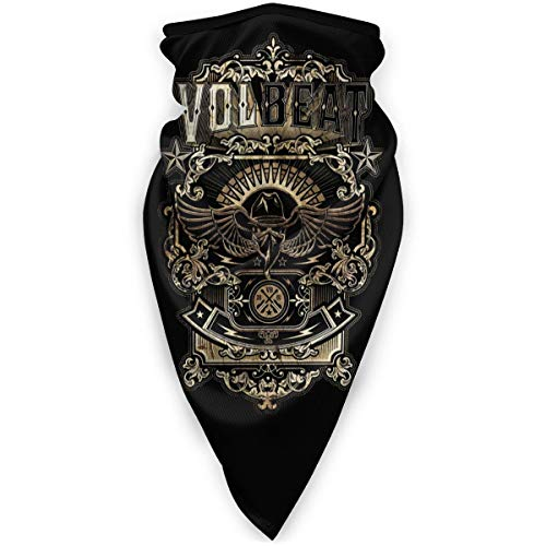Volbeat Poster Windproof Sports Mask Face Bandana Balaclava Mouth Cover Scarf Mask For Outdoor Sports