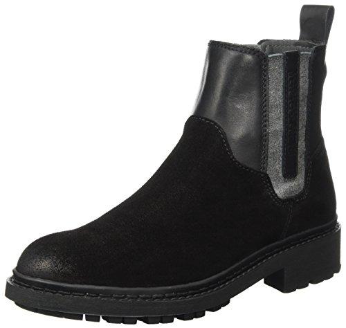 Napapijri Footwear Damen Reese Schlupfstiefel, Schwarz (Black), 42 EU