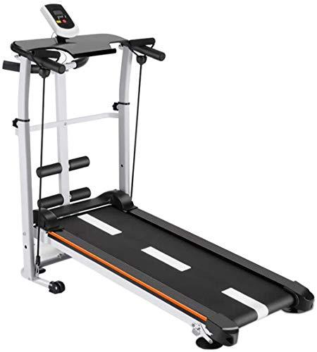 rgfhtyrgyh Máquina Plegable Tilt Fitness Cinta de Correr Manual Pérdida de Peso multifunción Cinta de Correr aeróbica