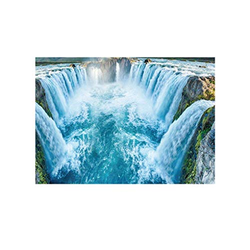 Vektenxi Fluss Piedra Pared Adhesivo 3D Cobble Resistente al Agua baño Cocina Suelo decoración Tattoo Decals Home Wall Papel Duradero y práctico
