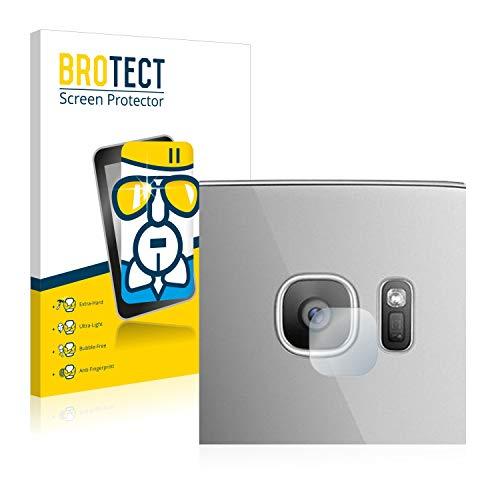 BROTECT Protector Pantalla Cristal Compatible con Samsung Galaxy S7 Edge (SÓLO Cámara) Protector Pantalla Vidrio - Dureza Extrema, Anti-Huellas