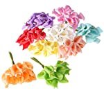 Silk Flower Arrangements Artificial and Dried Flower 144Ps PE Foam Artificial Calla Lily Flower Wedding Favour Box Decoration Marriage Candy Case Flowers Party Home Decor - ( Color: Mixed )