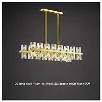 MUMUMI シャンデリア、シーリングライトled複数サイズの利用可能なペンダントライト照明システム,32ランプホルダー