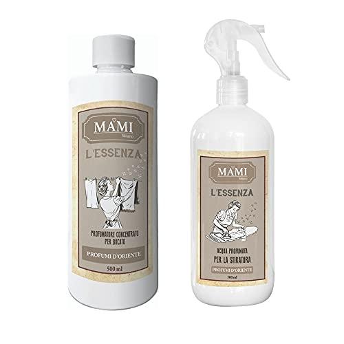 Mami Milano – Esencia 500 ml + agua para planchar – Perfumes de Oriente
