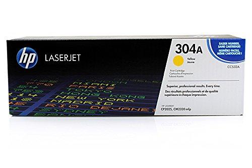 HP Color LaserJet CP 2024 N - Original HP CC532A - Cartouche de Toner Jaune -
