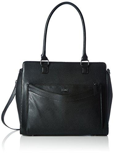 ARA Julie 16-20300 Damen Shopper 36x31x14 cm (B x H x T), Schwarz (schwarz 30)
