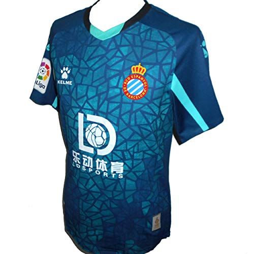 Kelme Espanyol RCD - Camiseta de fútbol para hombre 2020-201 (S)