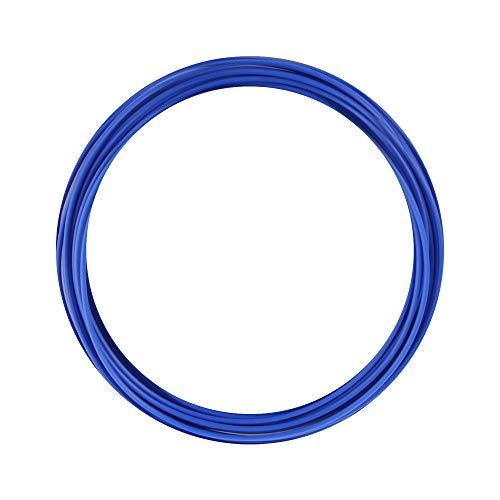 eSUN Campione di Filamento PLA Plus, Stampante 3D Filamento PLA+ 1.75mm, Rotolo da 10 Metri (32.8 Piedi) Materiali di Stampa 3D per Stampante 3D, Blu