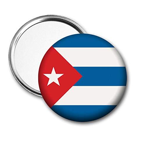 Cuba Vlag Pocket Spiegel voor Handtas - Handtas - Cadeau - Verjaardag - Kerstmis - Stocking Filler - Secret Santa