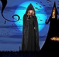 ハロウィンのマント コスプレ 変装 仮装 プレゼント 祭りコスプレ衣装 (ブラック)
