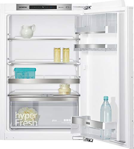 Siemens KI21RAD40 Einbau-Kühlschrank / A+++ / 87.4 cm Höhe / 65 kWh/Jahr / 144 Liter Kühlteil / safetyGlass / Flachschanier