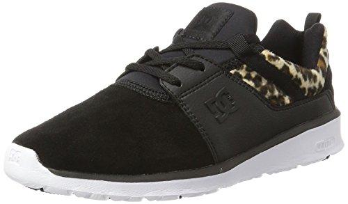 DC Shoes Heathrow Se, Zapatillas Mujer, Negro (Animal), 36 EU