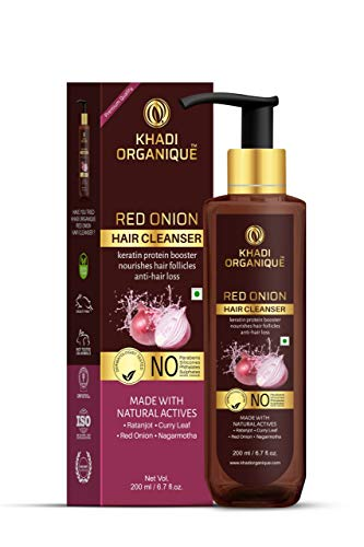 KHADI ORGANIQUE Red Onion Hair Cleanser, 200 ml