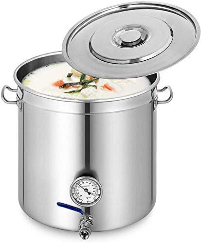 Olla universal de acero inoxidable para sopa o verduras, olla de gran...