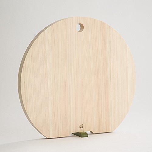 ゆとりの空間『栗原はるみ/木製まな板(丸)大スタンド式』