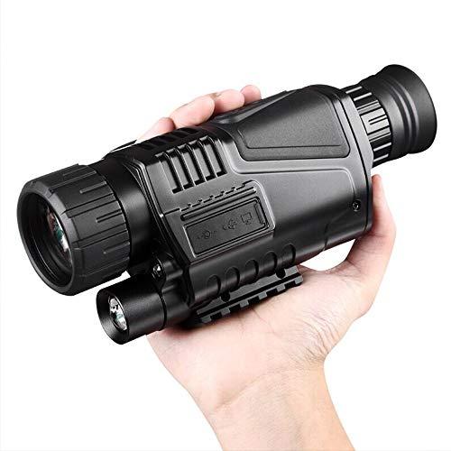 YUSDP Monocular Ultra HD Multi-Coated Telescope - mit Aufbewahrungstasche, 5-Fach Zoom, klarem FMC-Objektiv - kompakte Größe, USB-Akku für Reisen zum Beobachten von Wildtieren