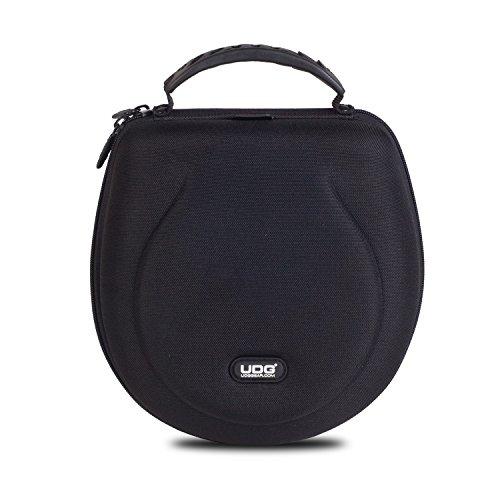 UDG Creator Headphone Case Large Black U8200BL - Custodia Rigida per Cuffie, protegge da urti, graffi e liquidi, Nero