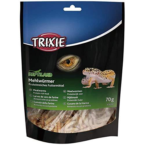 TRIXIE -Larves de vers de Farine séchées 70 GR-TR-76391