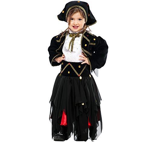Unbekannt Disfraz Infantil Gitana adivina Esmeralda Pirata Mardi Gras (98)