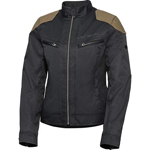 Spirit Motors Motorradjacke mit Protektoren Motorrad Jacke Damen Textiljacke 2.0 anthrazit L, Chopper/Cruiser, Sommer