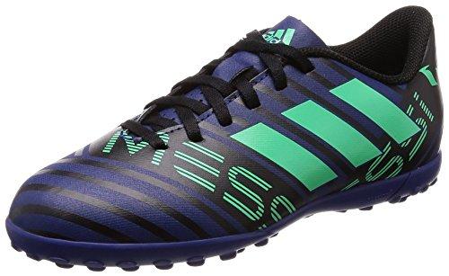 Adidas Nemeziz Messi Tango 17.4 TF J, Botas de fútbol Unisex Adulto, Multicolor (Tinuni/Vealre/Negbas 000), 38 2/3 EU