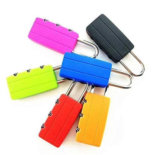 Cilinder Lock Locks Reizen Bagage Tas Gesleuteld Hangslot Locker koffer ladekast Lock Lll474 Groen