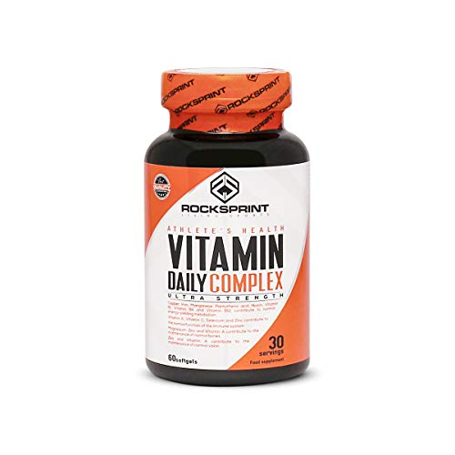 VITAMIN DAILY COMPLEX - Vitaminas y minerales para darte energía e inmunidad- Contra el cansancio y la fatiga - 60 perlas