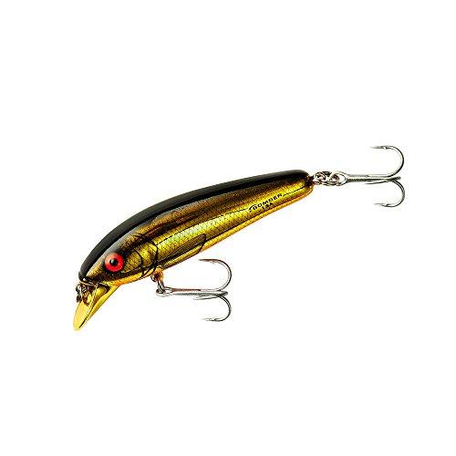 Bomber Long A - Señuelo de Pesca (Cromo Dorado/Barriga Naranja, 10,5 cm)