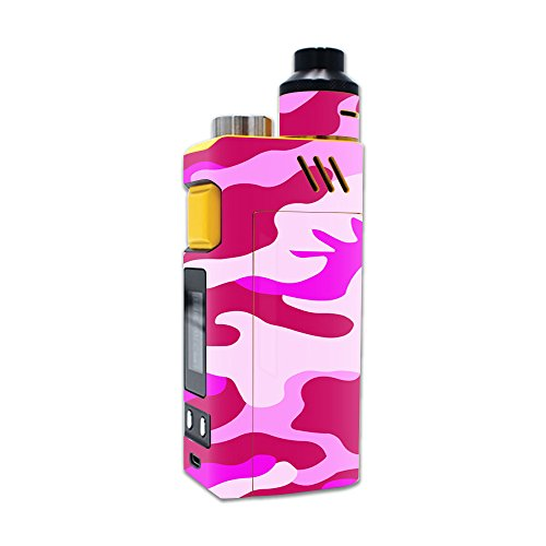 MightySkins Skin Compatible with iJoy RDTA Box 200W – Pink Camo | Protective, Durable, and Unique Vinyl Decal wrap Cover | Easy to Apply, Remove, and Change Styles | Made in The USA