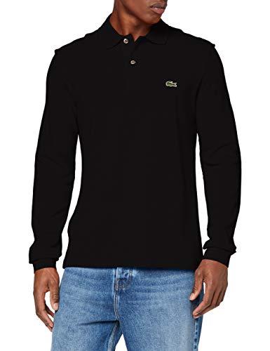 Lacoste Herren Poloshirt, Schwarz (Noir), S (Herstellergröße: 3)