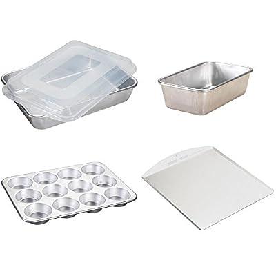Nordic Ware 5-Piece Baking Set, Metal