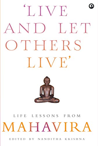 Book's Cover of Live and Let Others Live': Life Lessons from Mahavira (English Edition) Versión Kindle
